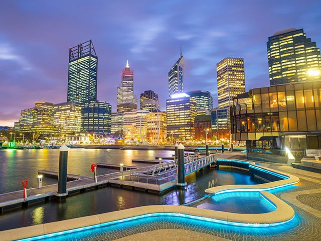 Book cheap flights to Perth with eDreams