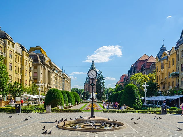 Book cheap flights to Timisoara with eDreams