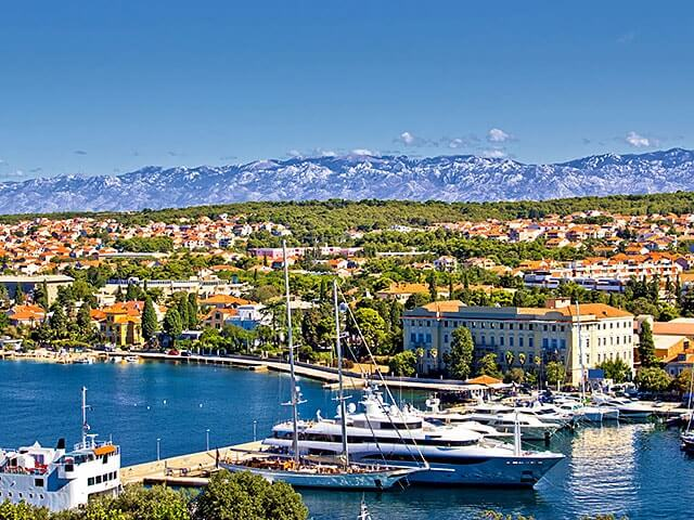 Book cheap flights to Zadar with eDreams